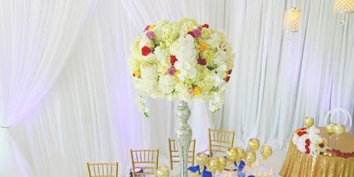 floral and room design workshop