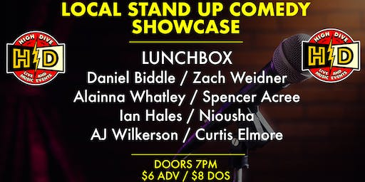 LOCAL STAND UP COMEDY SHOWCASE