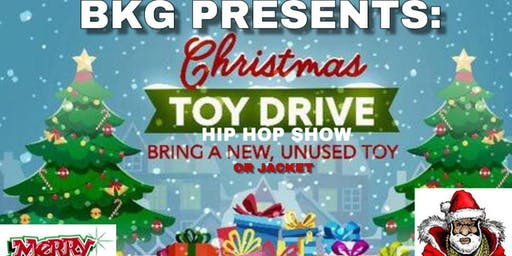 Annual  Christmas Toy & Jacket Drive Hip Hop Show