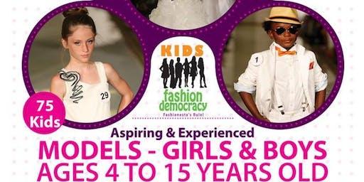 KIDS FASHION DEMOCRACY 2020 WINTER SHOW IN NEW YORK CITY