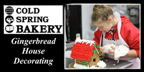 Gingerbread House Decorating Sessions 2019 tickets