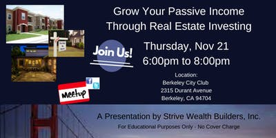Grow Your Passive Income Through Real Estate Investing