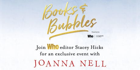 Books & Bubbles: with Joanna Nell tickets