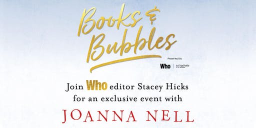 Books & Bubbles: with Joanna Nell
