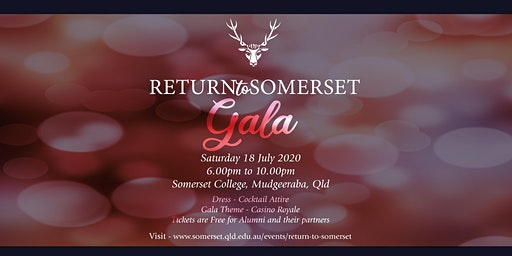 Return To Somerset Gala 2020