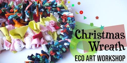 Christmas Wreath Eco Art Workshop