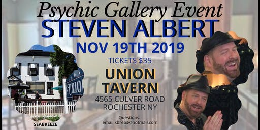 Steven Albert: Psychic Gallery Event - Union Tavern