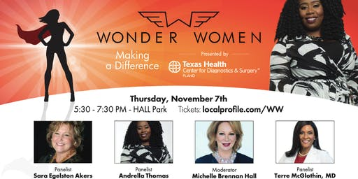 Wonder Women: Making a Difference