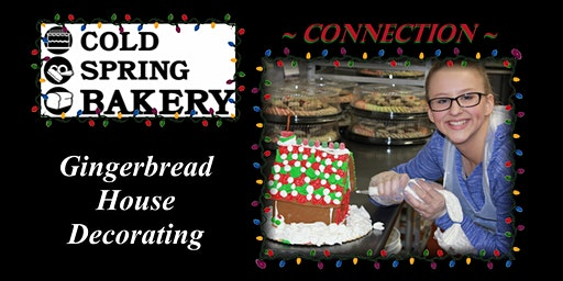 Connection Gingerbread House Decorating Sessions 2019