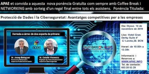 """PONENCIA GRATUÏTA APAE  """"Avantatges competitives per a les empreses"""""""