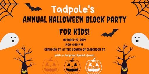 Tadpole's Annual Halloween Party