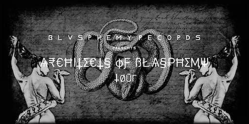 Architects of Blasphemy Tour - Satanic Hispanic x Plvgues