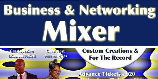 Ms Gulf Coast Business Mixer presented by Custom Creations