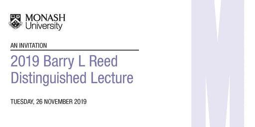 2019 Barry L Reed Distinguished Lecture