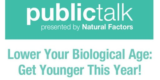 Lower Your Biological Age: Get Younger This Year!