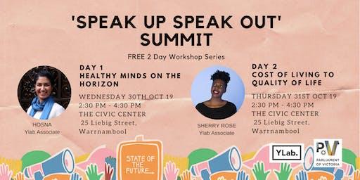 'Speak Up, Speak Out' Summit (Mental Health)