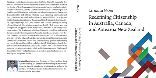 Redefining Citizenship in Australia, Canada and Aotearoa New Zealand Launch