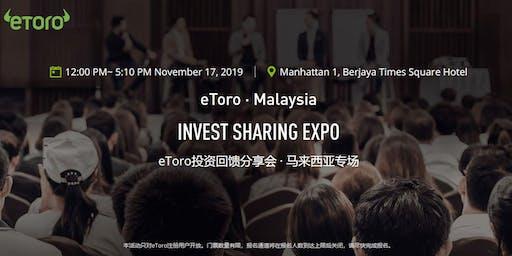 eToro Invest Sharing Expo. Malaysia