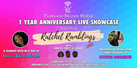 Flawless Noises Media's 1 Year Anniversary Live Show tickets
