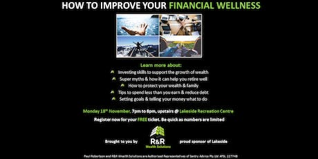How to improve your Financial Wellness tickets