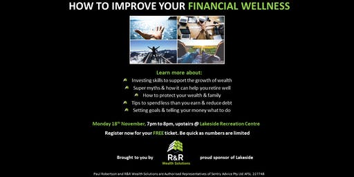 How to improve your Financial Wellness