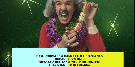 A Barry Little Christmas - Lunchtime Concert - Free Event