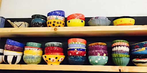 Empty Bowls Detroit Painting Workshop x First Presbyterian Church Royal Oak