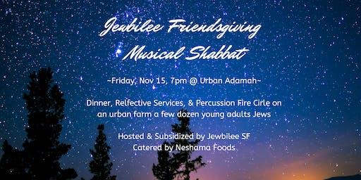 Jewbilee Friendsgiving Musical Shabbat