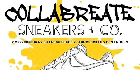 COLLABREATE x SNEAKERS + CO.