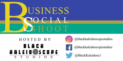 Black Kaleidoscope Studios Business Social Shoot
