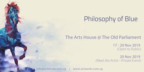 Philosophy of Blue - Ma Dongmin Exhibition tickets