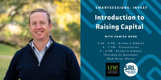 SMARTSessions: Introduction to Raising Capital – Moree