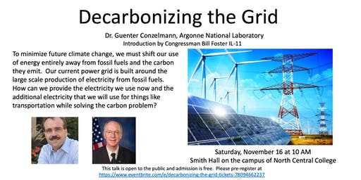 Decarbonizing the Grid