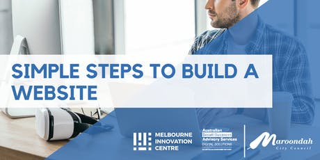 Simple Steps to Build a Website - Maroondah tickets