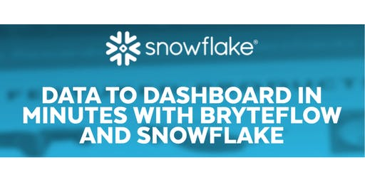 Data to Dashboard in Minutes with BryteFlow and Snowflake