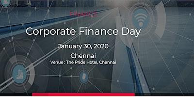 Corporate Finance Day |19 March 2020 | Chennai