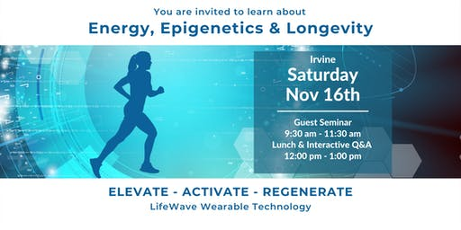 Energy, Epigenetics & Longevity