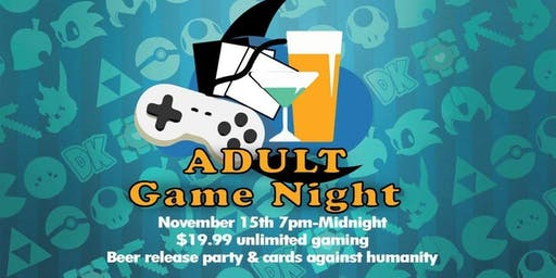 Adult Game Night