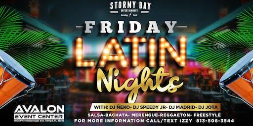 Friday Latin Nights at Avalon