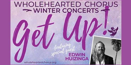 WHOLEHEARTED CHORUS Fall Concert featuring Edwin Huizinga