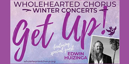 """WHOLEHEARTED CHORUS Fall Concert """"Get Up!"""" at Hidden Valley Music"""