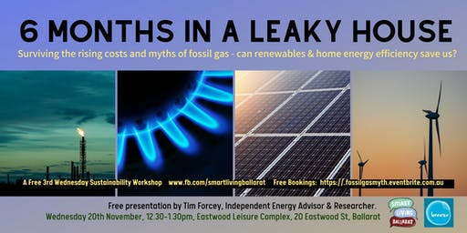 Surviving the Rising Cost of Fossil Gas & Renewable Alternatives FREE TALK