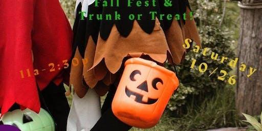 GLA Fall Fest, Trunk or Treat, Chili Cook Off & Ribbon Cutting!