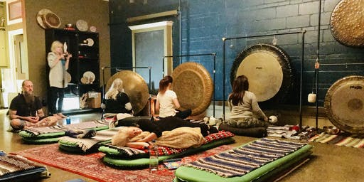 Unplugged Healing Sacred Gong Retreat and Training