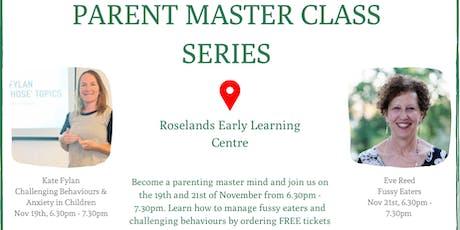 Roselands Parent Master Class Series tickets