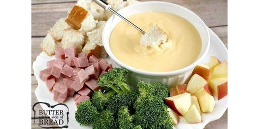 Fondue, Cheese, Vegetable or Meat (2019-11-30 starts at 10:00 AM)