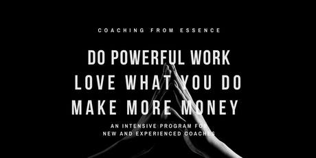 Coaching from Essence tickets