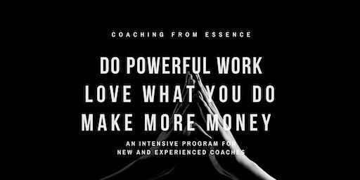 Coaching from Essence - January 2019