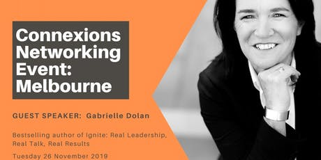 Melbourne Connexions - Networking for Business Women 26 November 2019 tickets