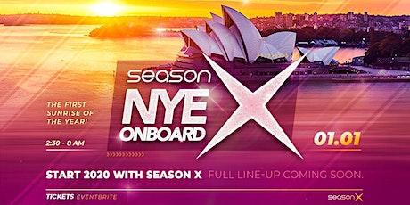 Season X NYE Onboard - 2020 tickets
